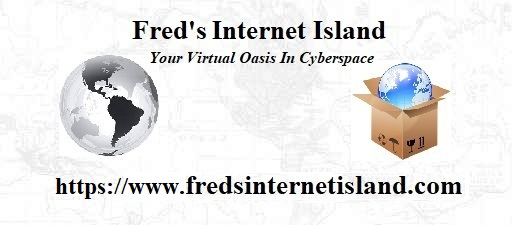 Fred's Internet Island Logo