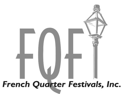French Quarter Festivals, Inc. Logo