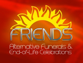 FRIENDS - Alternative Funerals Logo