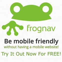 frognav Logo
