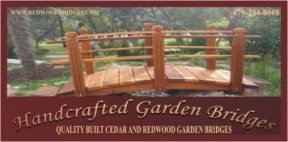 Handcrafted Garden Bridges Logo