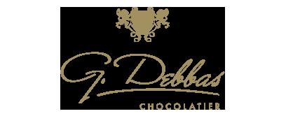 G.Debbas Chocolatier Logo