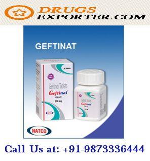 Geftinat 250 Mg Gefitinib tablets exporter Logo