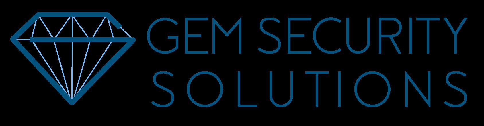 GEM SECURITY SOLUTIONS Logo