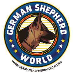 German Shepherd World Logo
