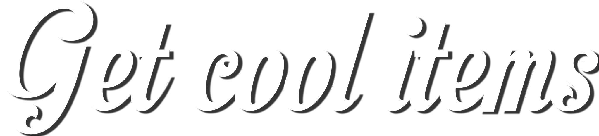 Get Cool Items Logo