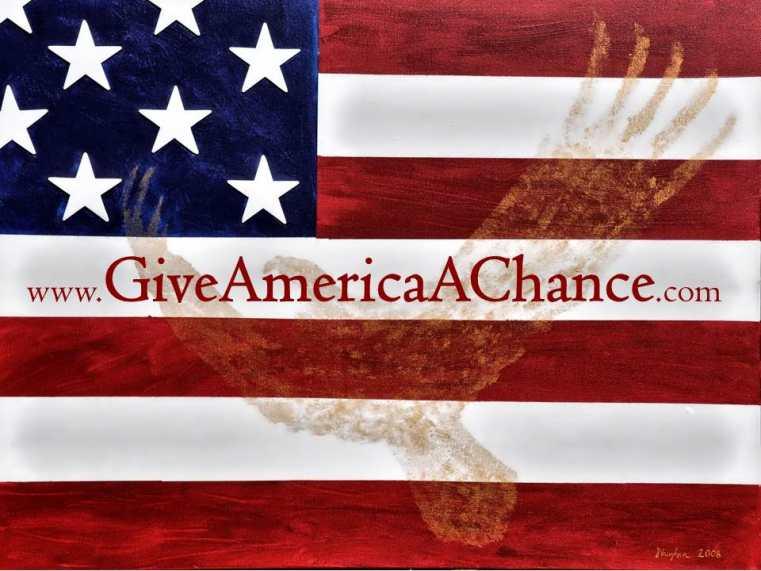 Give America A Chance Logo