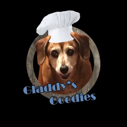 Gladdy's Goodies Natural Dog Treats Logo