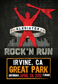 Gladiator Rock'N Run Logo