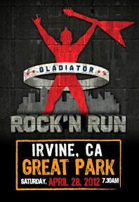 Gladiator Rock'N Run Logo