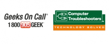 Geeks On Call/Compter Troubleshooters Logo