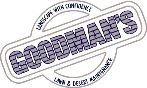 Goodman's Landscape Maintenance, LLC. Logo