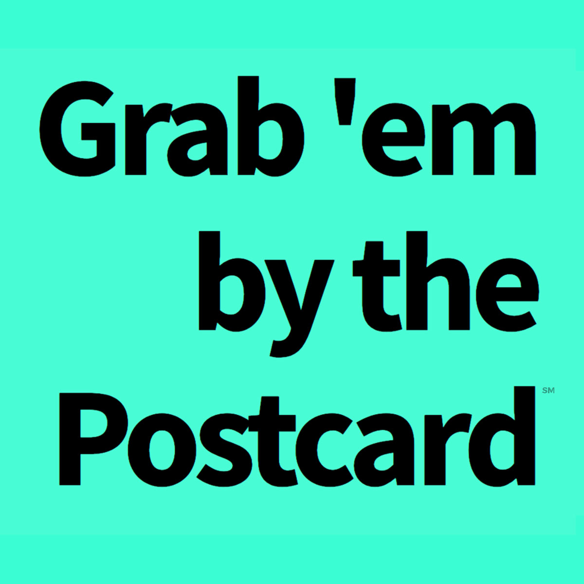 Grab 'em by the Postcard Logo