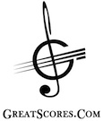 Great Scores Sheet Music Logo