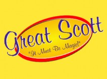 Great Scott --It Must Be Magic! Logo