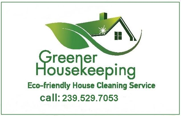 Greener Housekeeping - Cleaning Service Logo