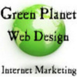 Green Planet Web Design Logo