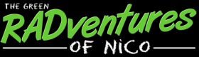 Green Radventures of Nico Logo