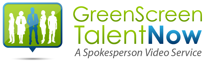 Green Screen Talent Now Logo
