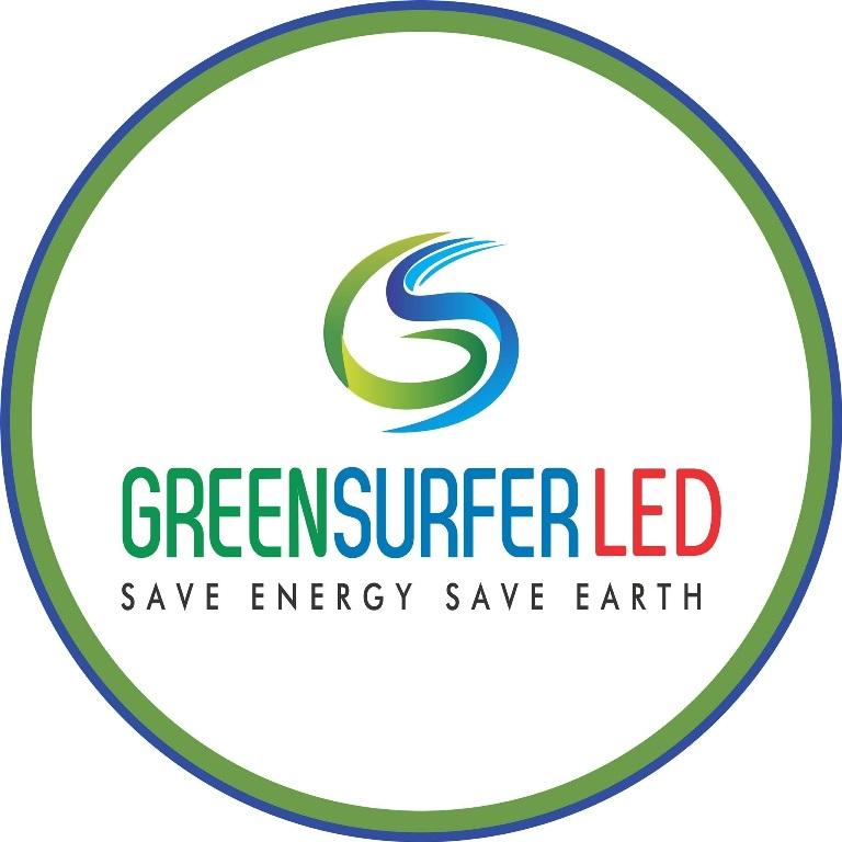 Green Surfer LED Logo