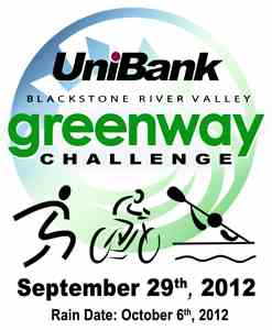 UniBank Blackstone River Valley Greenway Challenge Logo