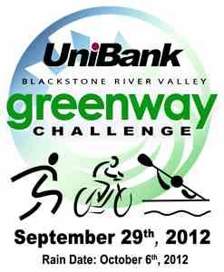 UniBank Blackstone River Valley Greenway Challenge Logo