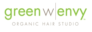 Green with Envy Organic Hair Studio Logo