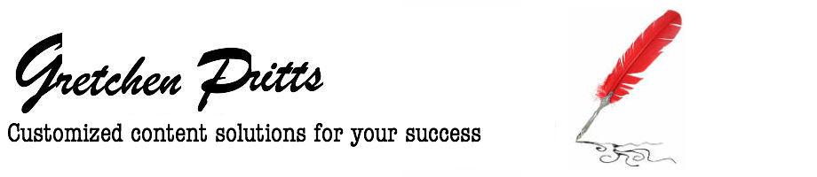 Gretchen Pritts–Content Marketing Strategist Logo