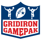 The Gridiron GamePak Logo