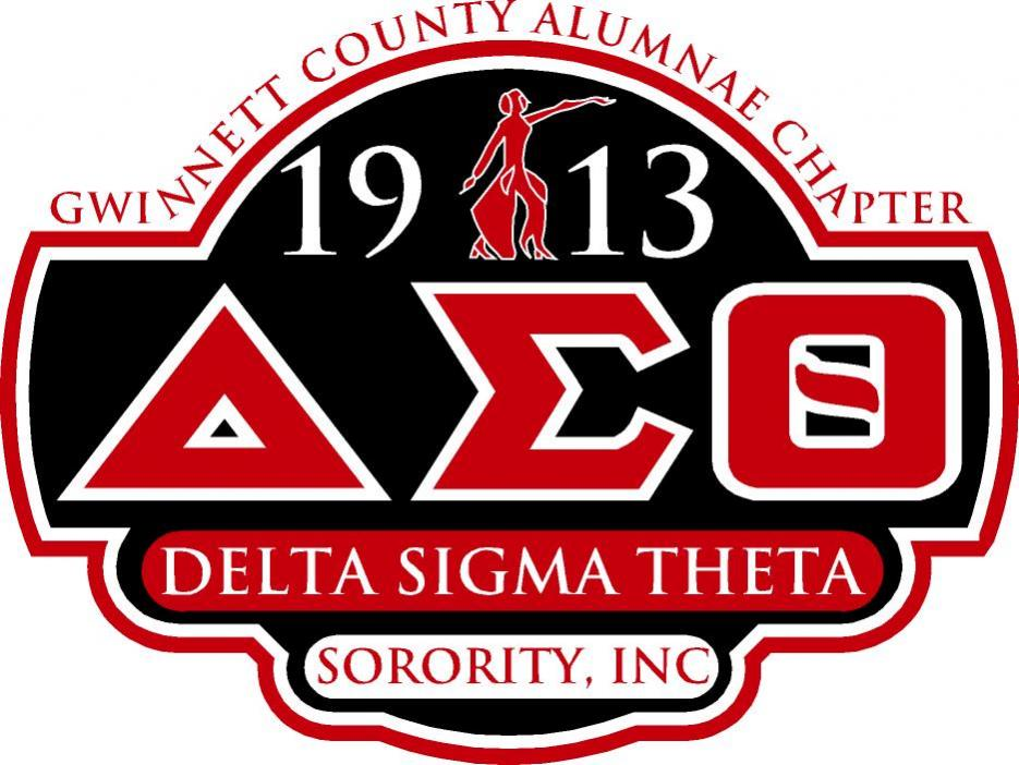 Gwinnett Chapter - Delta Sigma Theta Sorority, Inc Logo