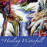 The Healing Waterfall Logo