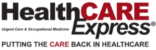HealthCARE Express Logo
