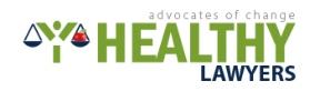 Healthy Lawyers Logo