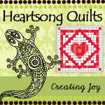HeartSong Quilts Logo