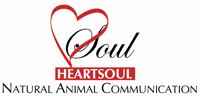HeartSoul Natural Animal Communication Logo