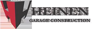 Heinen Garage Construction Logo