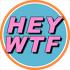 HEY WTF Records Logo