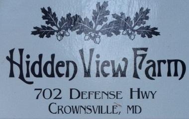 Hidden View Farm Logo