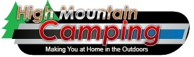 High Mountain Discount Camping Supply Logo