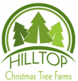 hilltop christmas tree farms logo - Hilltop Christmas