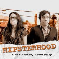 Hipsterhood - a web series, ironically Logo