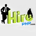 Hire PHP Logo