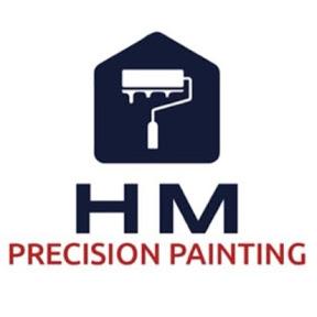 H M Precision Painting House Painters Kansas City Logo