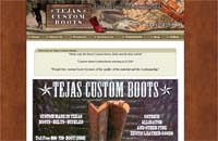 Houston Custom Boots - Tejas Custom Boots Logo