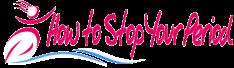howtostopyourperiod Logo