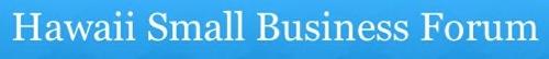 Hawaii Small Business Forum Logo