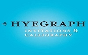 Hyegraph Invitations and Calligraphy Logo