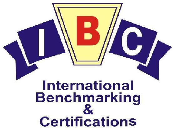 International Benchmarking & Certifications Logo