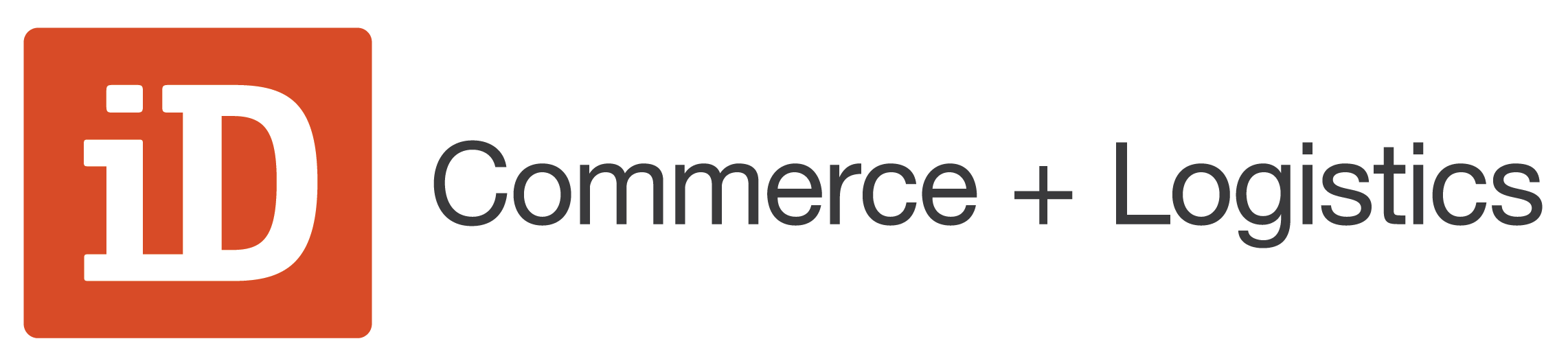 iD Commerce + Logistics Logo