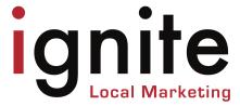 Ignite Local Marketing Logo